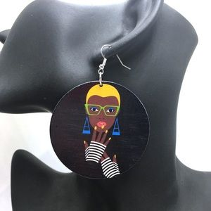 Jewelry - Amazing Afrocentric Earring!